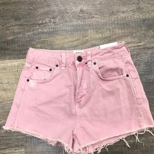 Urban Outfitter BDG Pink Mom Shorts